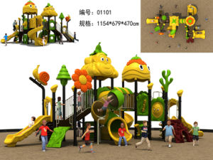 Ce Proved Plastic Kids Outdoor Playground pictures & photos