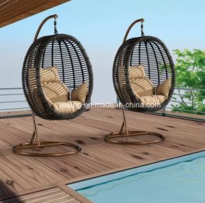 Cheap Outdoor Garden Furniture Hammock Swing Chair by Sythetic PE-Rattan Woven (YTA005) pictures & photos
