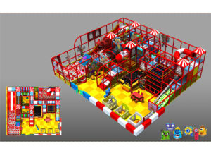 Circus Theme Indoor Equipment Playgrgound Plastic Material Playground pictures & photos