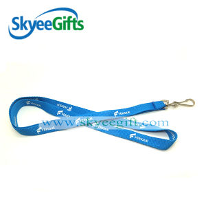 Factory Direct Sale Custom Eco-Friendly Nylon Branded Woven Lanyard with Logo pictures & photos