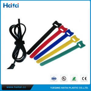 Wholesale Customized Hook Loop Cable Tie pictures & photos