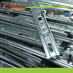 Stainless Steel Two / Three Sections Ball Bearing Silent Slide