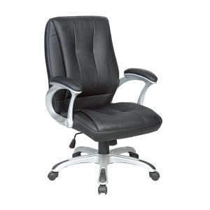 Middle Back Stylish Faux Leather Executive Swivel Office Chair (FS-8716B) pictures & photos