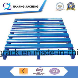 Warehouse Powder Coated Q235 Steel Pallet for Sales pictures & photos