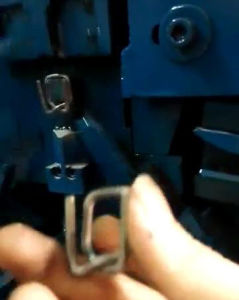 Steel Wire Buckle Machine of Fast Speed