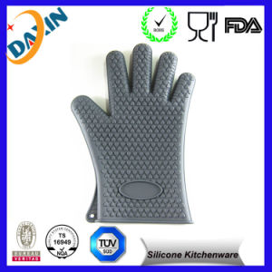 Silicone Heat Resistant Gloves Silicone Oven Mitts for Oven Cooking pictures & photos