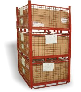 Foldable Storage Metal Wire Cage pictures & photos