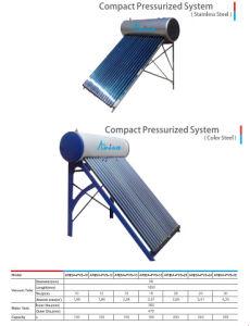 Vacuum Tube Pressurized Solar Water Heater pictures & photos