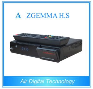 Zgemma H. S IPTV Set Top Box with Linux OS Enigma2 DVB-S2 One Tuner pictures & photos