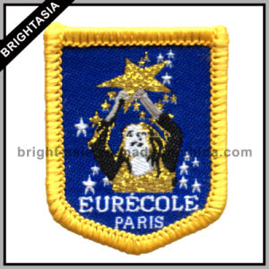 Custom Souvenir Embroidery Badge Patch for Iron-on Clothing (BYH-10161) pictures & photos