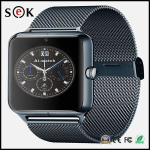 Z50 3G Smart Watch Mobile Phone with GPS Android 4.4 IPS Touch Screen Bluetooth China Smart Watches Phone pictures & photos