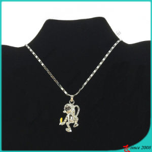 Cute Monkey Pendant Necklace for Kids Jewellery (FN16040829)