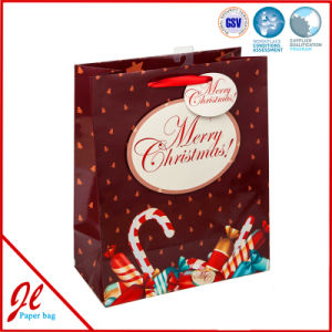 Red Fashionable Gift Shopping Bags for 2016 Christmas Party Holiday pictures & photos