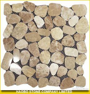 Light Emperador Marble Mosaic Tiles pictures & photos