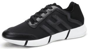 Leather Mesh Men′s Fashion Shoes (SP-022) pictures & photos