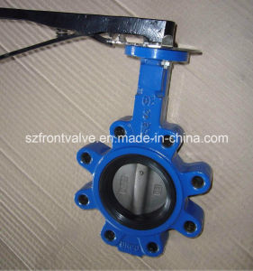 Cast Iron/Ductile Iron Soft Seat Lug Butterfly Valve pictures & photos