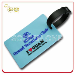 Personalized Exclusive Mold Injection Soft PVC Luggage Tag pictures & photos