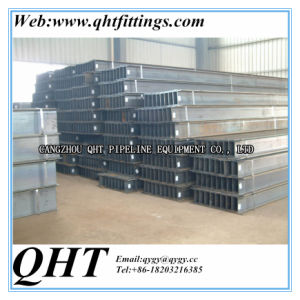 100*100*6*8mm to 900*300*16*28mm Hot Dipped Galvanized Steel H Beam pictures & photos