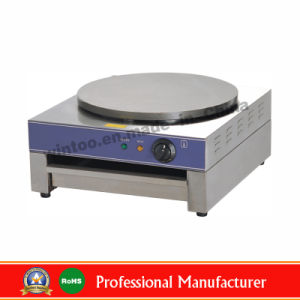 Counter Top Stainless Steel Single Plate Electric Crepe Machine for Top-Rated (ECM-1) pictures & photos