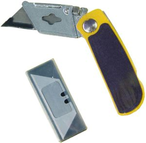 Hand Tools Utility Kinfe Folding Lock Spare Blades Cutting pictures & photos