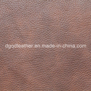 Fire Resistance BS-5852 (1&2&5) Sofa PU Leather Qdl-50210 pictures & photos
