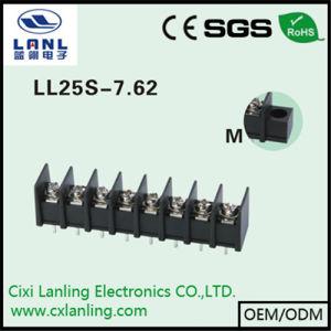 Ll25s-7.62 Black Barrier Terminal Blocks