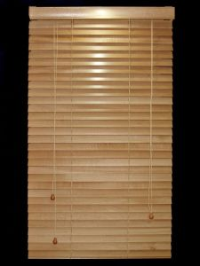 35mm 100% Basswood Venetian Blinds with Steel Headrail pictures & photos