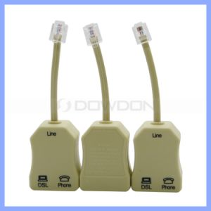 2 Ports ADSL Wired Networking Cable Telephone Cable Splitter pictures & photos