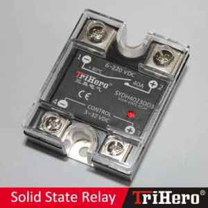 40A DC/DC Single Phase Solid State Relay SSR pictures & photos
