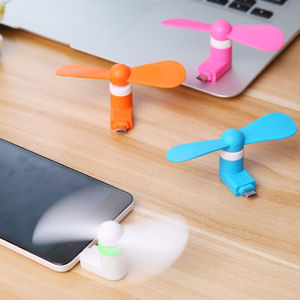 Wholesale Creative Portable Cooling Micro/Mini/OTG/2-in-1 Mini Fan pictures & photos
