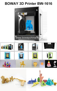 Desk Top Doll Miniature Patterns Model Making Printing Machine Small Home 3D Printer for Kids pictures & photos