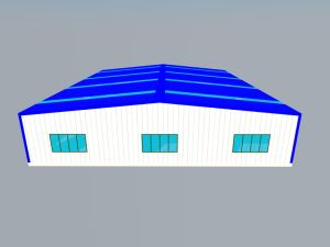 ISO Standard Heavy Steel Structure Warehouse Building for Workshop pictures & photos