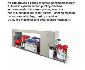The New Design One Color Non-Woven Fabric Screen Printer