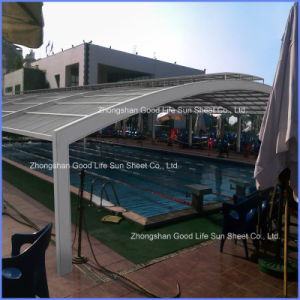 Polycarbonate Solid Panel for Swimming Pool Cover pictures & photos