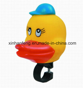 Bicycle PVC Cartoon Duck Horn (HEL-147) pictures & photos