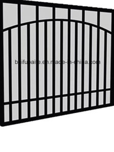Garden Fencing China Manufactured Metal Fences Iron Gate pictures & photos