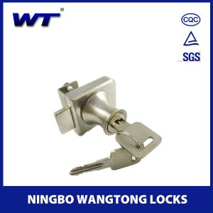 Zinc Alloy Glass Door Lock pictures & photos