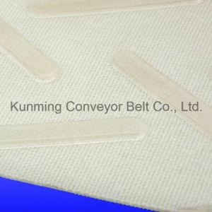 (ESM200/2: 0+2.5CS/4.5) PE White Cross Rack Conveyor Belt pictures & photos