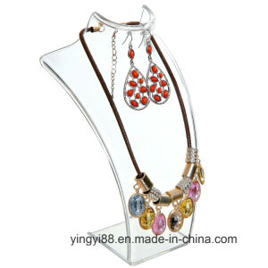 Factory Direct Sale Acrylic Jewelry Display for Necklaces pictures & photos