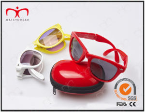Sunglasses for Unisex with Case Foldable and Fashionable (20198) pictures & photos