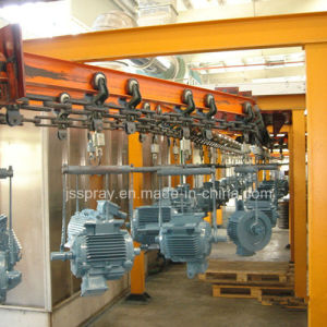 Painting Spray Production Line for Electrical Machinine