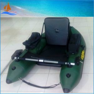 Army Green One Person Inflatable Boat for Fishing pictures & photos