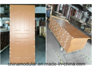 Fireproof PVC Wooden Door for Commercial Buildings pictures & photos