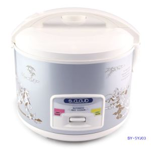 5L Manual Control Rice Cooker with Micro-Pressure Valve Sy-5yj03
