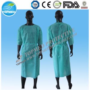 Disposable Isolation Gown Hot Sale pictures & photos