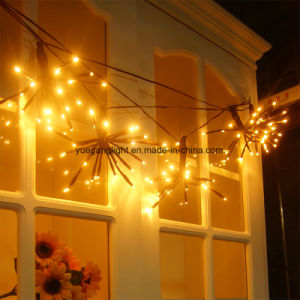 2m 100LED Brown Explosion Ball String Light Christmas Decoration Lights pictures & photos