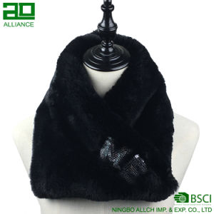 Winter Elegant Chunky Faux Fur Infinity Scarf pictures & photos