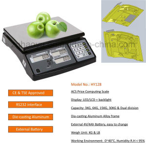 Trade Approved Price Computing Label Scales pictures & photos
