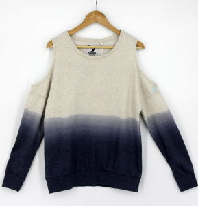 2017 Women Garment Dying Washing Effected Sweatshirts pictures & photos