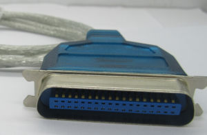 VGA Cable, with Chip, dB25p One Side, and USB a Male Connector Another Side, Custom Length pictures & photos